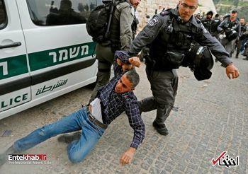 یورش نظامیان اسرائیل به نمازگزاران فلسطینی در مسجدالأقصی +فیلم