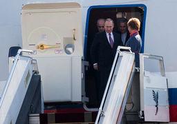 پوتین برای شرکت در نشست با روحانی و اردوغان وارد تهران شد