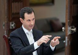 اسد: روسیه ناجی سوریه بود
