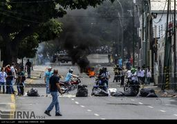 ادامه ناآرامی ها در پایتخت ونزوئلا