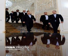 تصاویر دیدار «محمد جواد ظریف» و هیأت پارلمانی جمهوری عراق