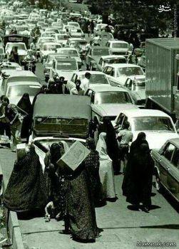 ترافیک در تهران، 70 سال پیش +عکس
