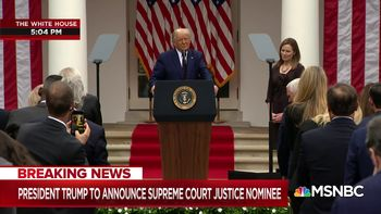 ترامپ گزینه خود برای قضاوت در دیوان عالی را معرفی کرد