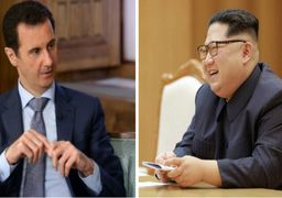 پیام سلامت کیم جونگ اون به بشار اسد