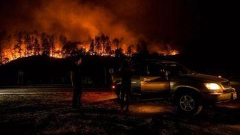 آتش سوزی مرگبار در کالیفرنیا