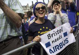 تظاهرات صدهزار نفری مخالفان برگزیت در لندن +تصاویر