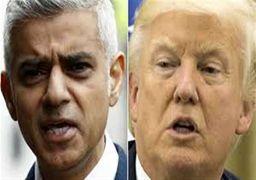 شهردار لندن به سخنان ترامپ علیه خود پاسخ داد