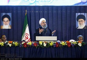 روحانی: آن هایی که امروز شعار می دهند، واقعیت های کشور را ببینند؛ وعده دادن آسان است