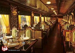 تصاویر لوکس ترین قطار دنیا