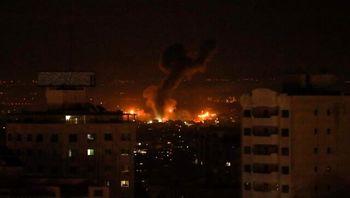 حمله هوایی اسرائیل به غزه+ جزئیات
