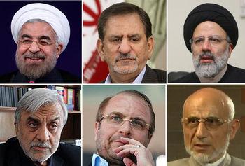 روحانی چه کسی را رقیب خود می کند؟ /طرح ویژه جهانگیری برای رقبای شیخ / رییسی به دنبال بازسازی انتخابات ۸۴ است؟ + اینفوگرافی