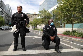 محرومیت پلیسهای سیاهپوست آمریکا از ارتقا به ردههای بالا