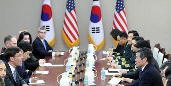 مذاکرات وزرای دفاع آمریکا-کره درباره ائتلاف دریایی خلیجفارس