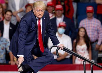 بی احترامی ترامپ به مخالفان هم حزبی اش!