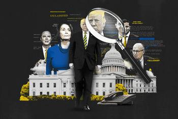استیضاح ترامپ عامل ریزش در حزب دموکرات