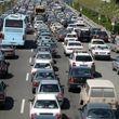 ترافیک سنگین در آزادراه قزوین_کرج_ تهران