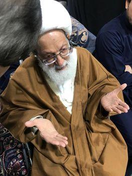 «شیخ عیسی قاسم» در مراسم عزاداری محرم در لندن+عکس