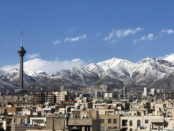 هوای تهران در وضعیت سالم قرار گرفت