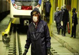 سهبرابر شدن مسافران متروی تهران پس از تعطیلات
