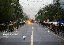 گزارش 20 حادثه مرتبط با طوفان در پایتخت