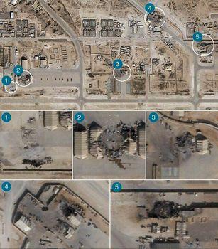 سایت اسرائیلی: حمله سپاه به پایگاه آمریکایی احتمالا تلفات داشت