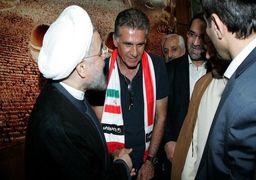 اعضای تیم ملی فوتبال با رئیس جمهور دیدار می کنند